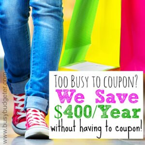 With shopular, I can save $400/year without couponing!