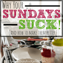 Why Your Sundays Suck (and how you can make them better)