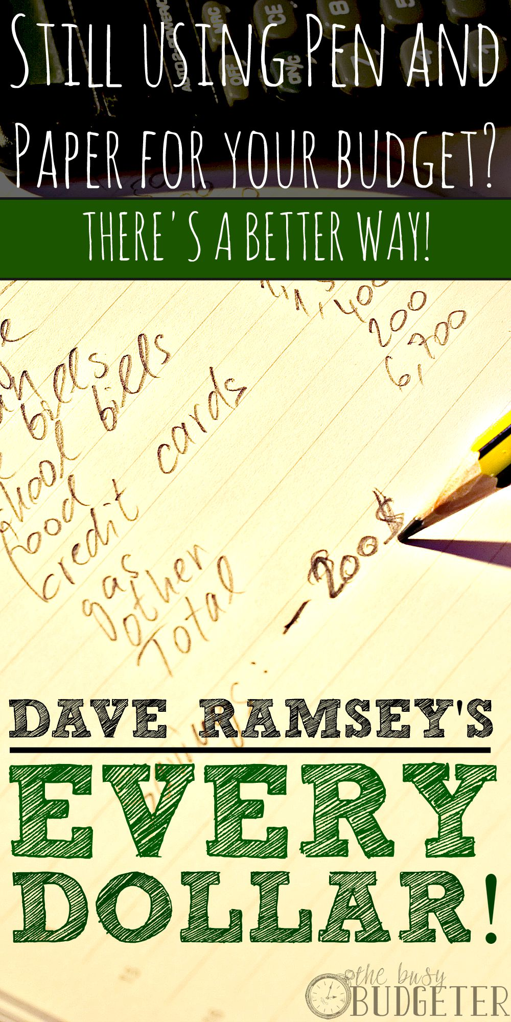 Dave Ramsey's Every Dollar Review