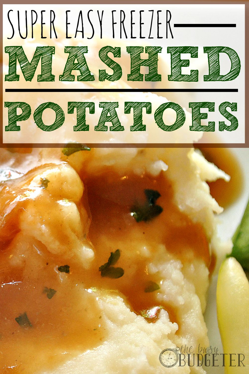 Super Easy Freezer Mashed Potatoes: Yes! I loooooooove mashed potatoes and this is even cheaper and easier than my go-to recipe. I'm totally making these this weekend and freezing some for later!