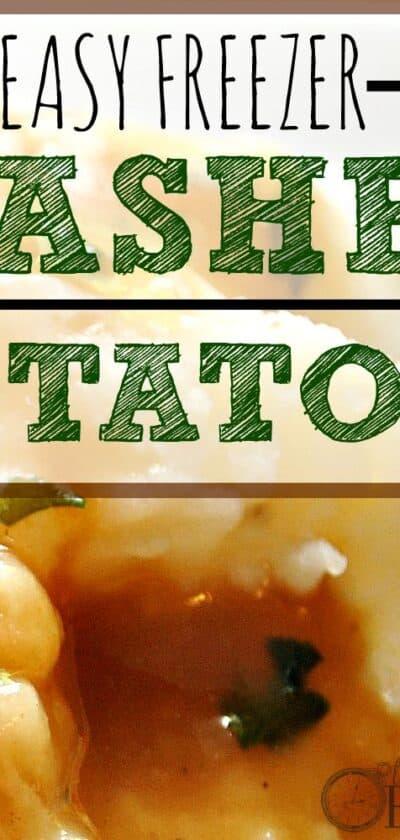 instant mashed potatoes recipe