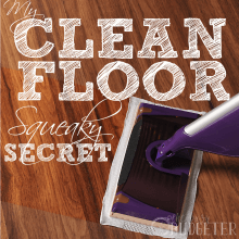 The Secret to Squeaky Clean Wooden Floors