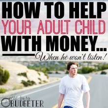 Should you help your adult child with money?