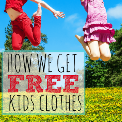 3 Ways To Get Free Kids Clothes… Every Year