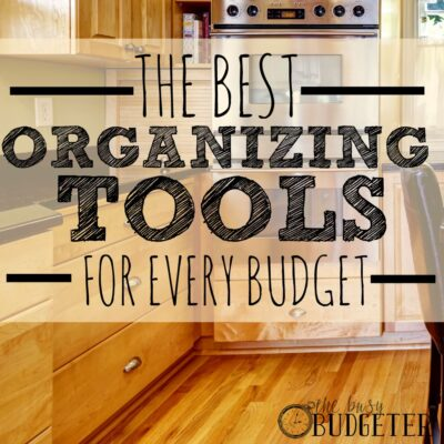 Organizing Tools for Every Budget