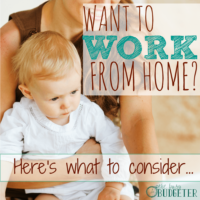 Want to Work From Home? Here's What to Consider