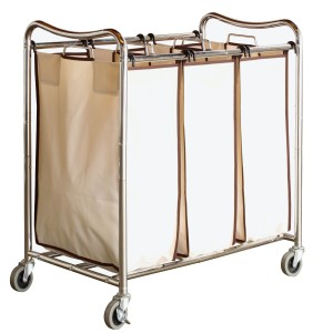 DecoBros Laundry Cart via Amazon.