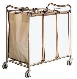 DecoBros Laundry Cart via Amazon.