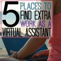 5 Places to Get Extra Work as a Virtual Assistant