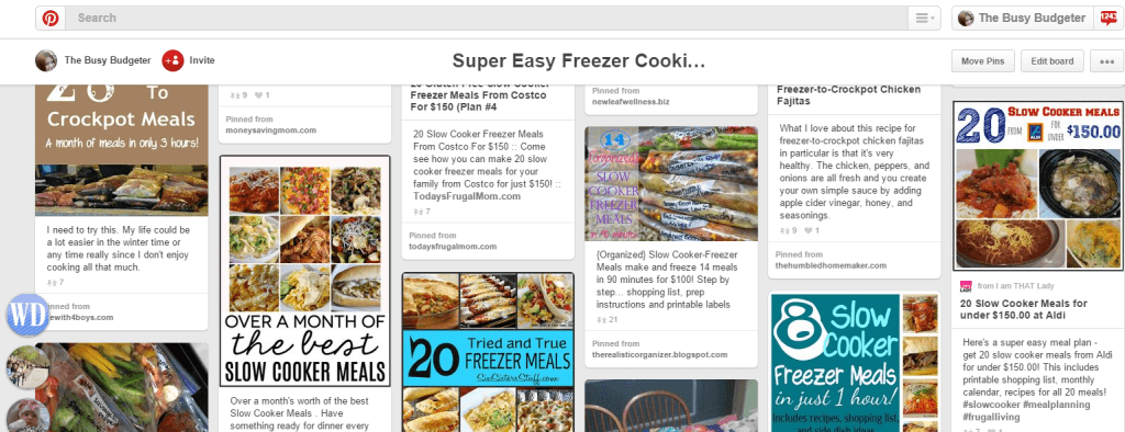 Top 25 Frugal Living Pinners on Pinterest