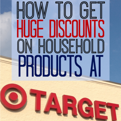 how to get huge discounts on household products at target the busy