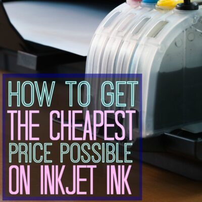 How to get the cheapest inkjet printer ink