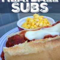 15 Minute Meatball Subs!
