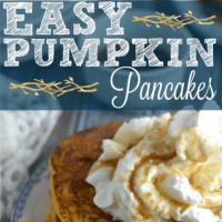 Easy Pumpkin Pancakes Recipe – You Need This in Your life!