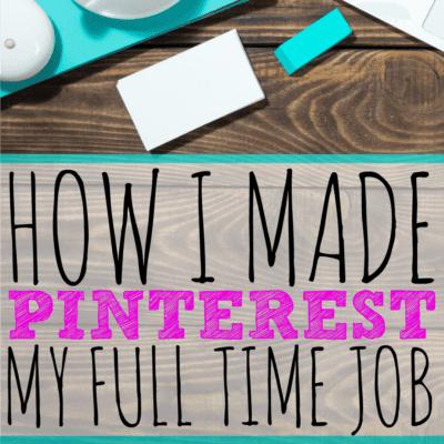 Pinterest Jobs: How I Turned Pinterest into a Full-Time Job