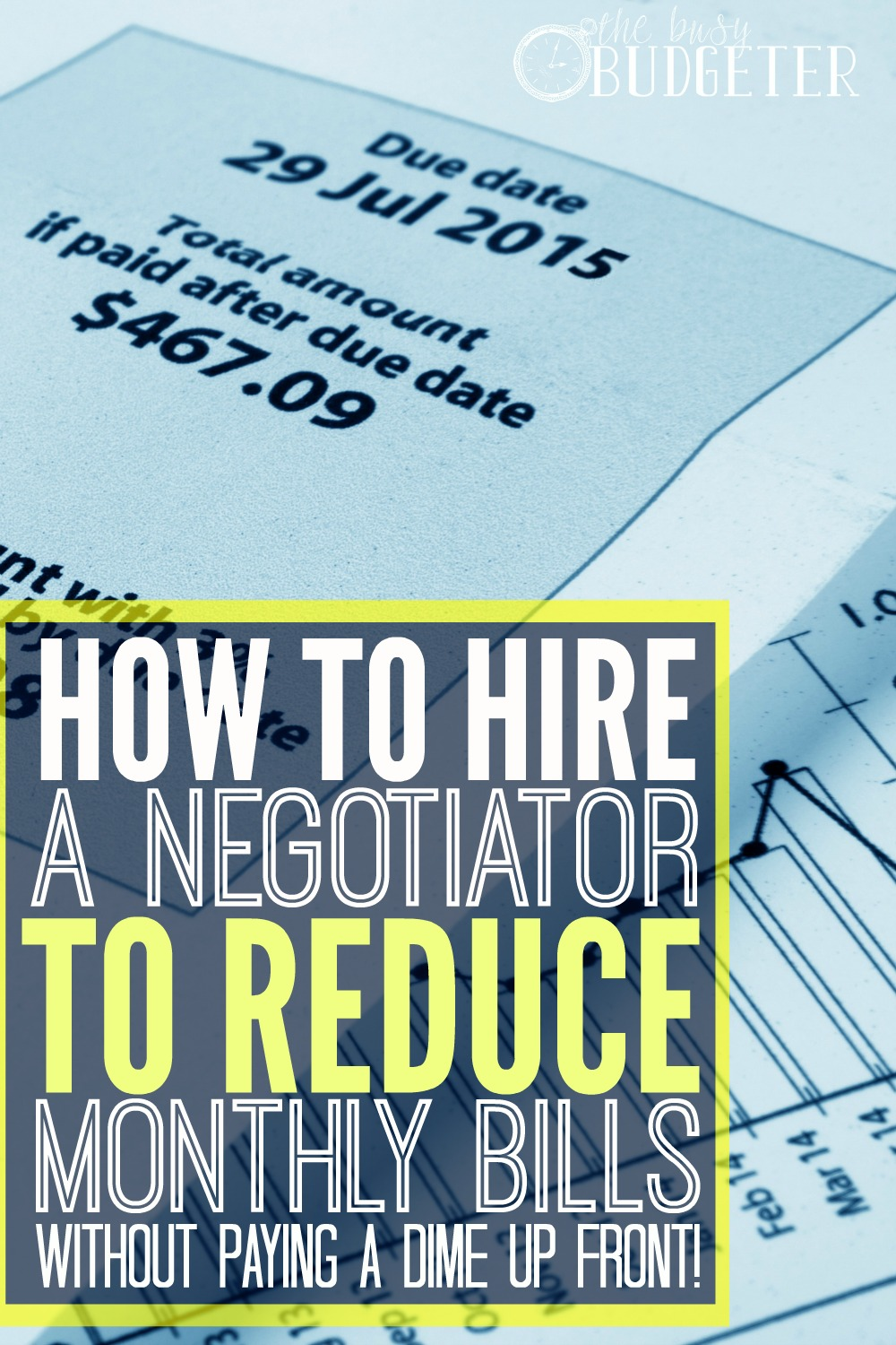 How to hire a negotiator to reduce monthly bills