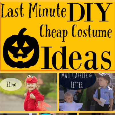 Last Minute Cheap DIY Halloween Costume Round-Up