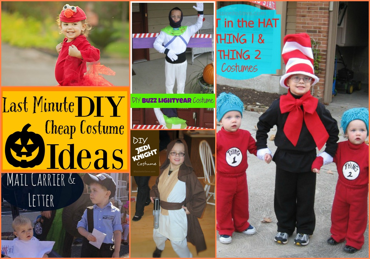 sc 1 st  The Busy Budgeter & Last Minute Cheap DIY Halloween Costume Round-Up - The Busy Budgeter