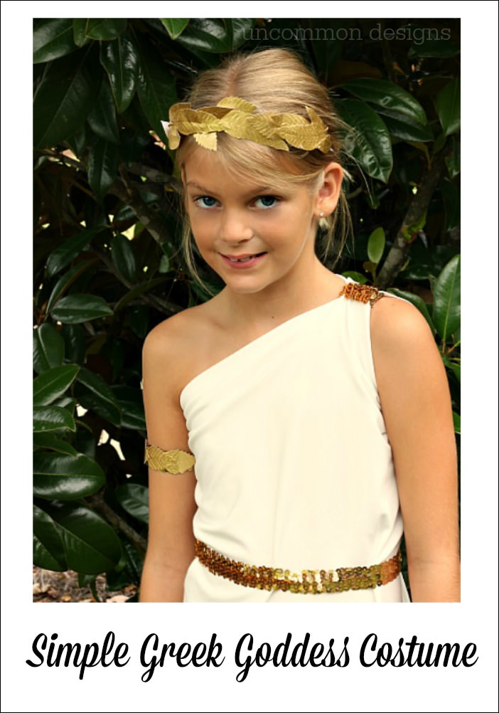 This is perfect. Your daughter looks beautiful. I have been looking for a one shoulder Greek goddess dress pattern for two days and this is the closest I have found to something that I can attempt to replicate.