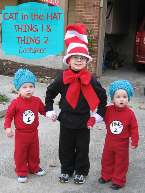 holloween cat in the hat  sc 1 st  The Busy Budgeter & Last Minute Cheap DIY Halloween Costume Round-Up - The Busy Budgeter
