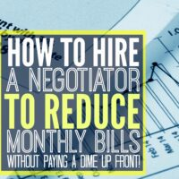 How to Hire a Professional Negotiator to Reduce Monthly Bills Without Paying a Dime Upfront.