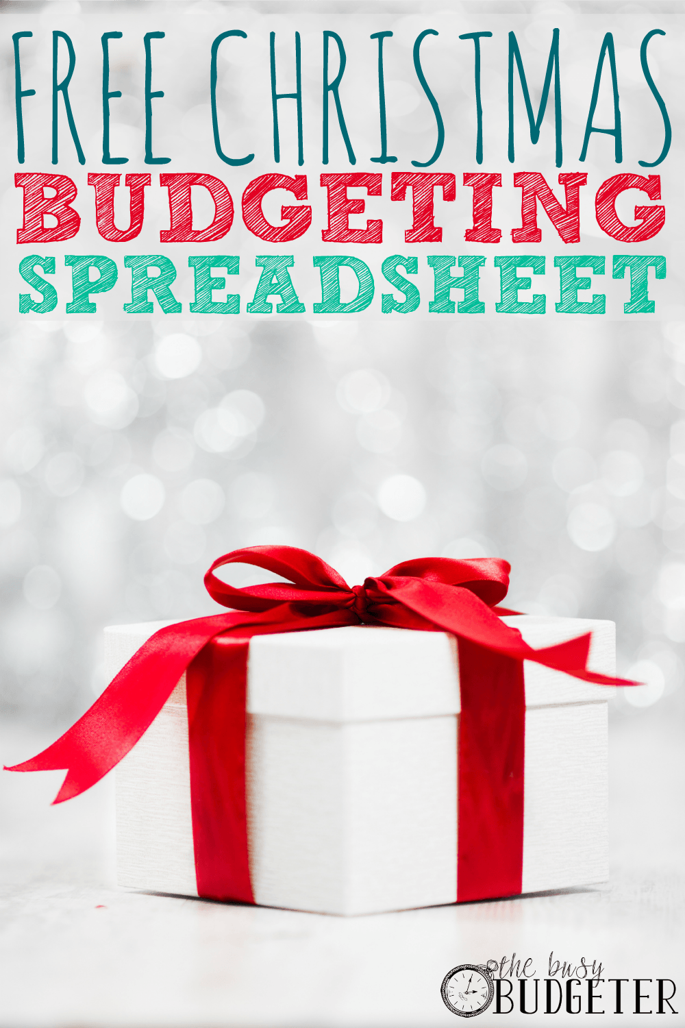 I love this idea! A budgeting spreadsheet for Christmas and super helpful tips on how to make the holidays more affordable. It's nice to know we're not the only ones who struggle this time of year.
