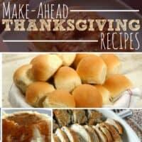 Make-Ahead Thanksgiving Recipes