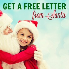 get a letter from santa the simple archives the busy budgeter 21942 | gET A FREE LETTER FROM SANTA FEATURED 220x220