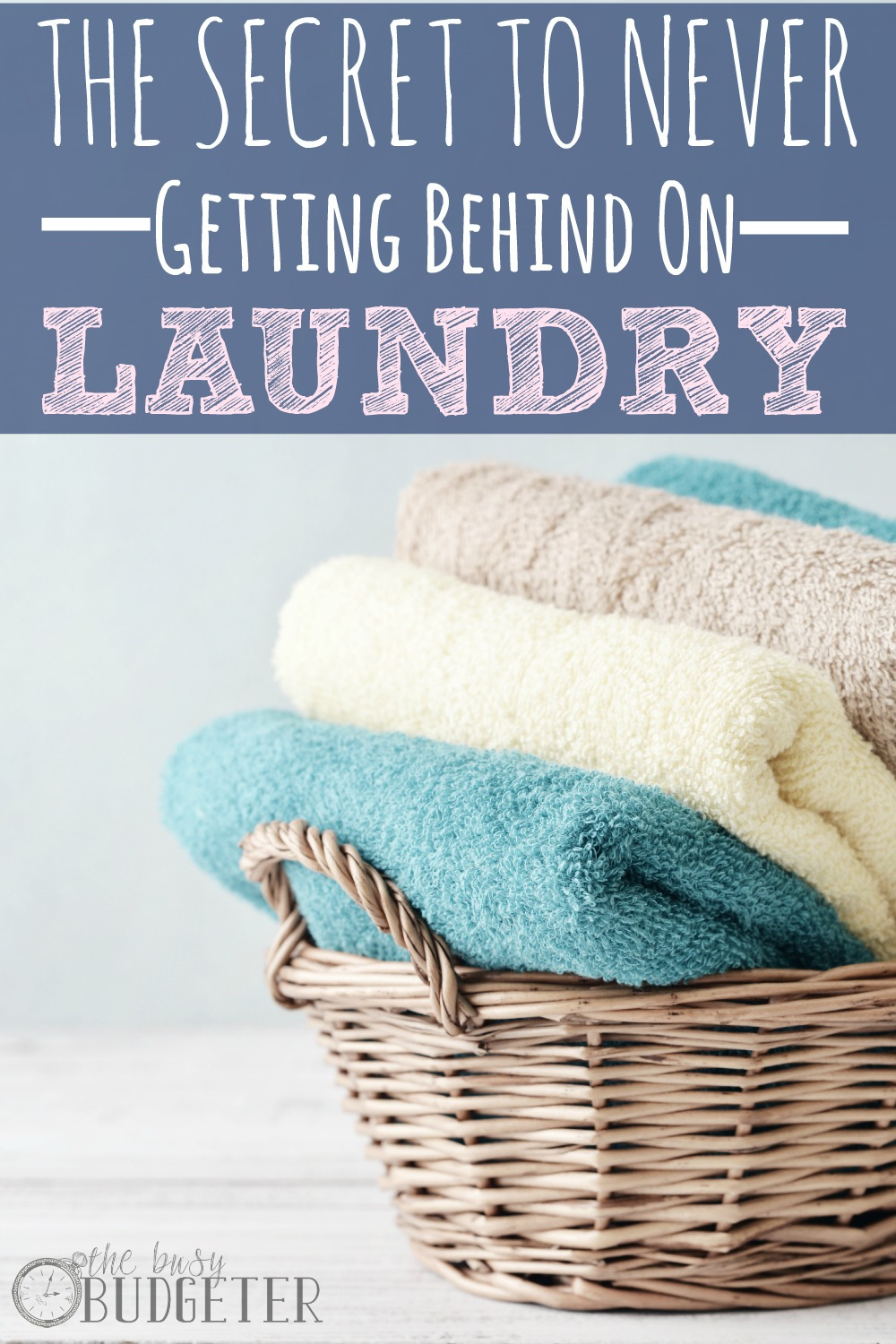 The simple secret to never getting behind on laundry again. What the... I'm floored. I tried this thinking it was silly and I went from having a hallway full of dirty clothes to just the next days laundry basket. It seems backwards to me, but if it works, it works! New laundry system!