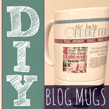 DIY Blog Mug Tutorial