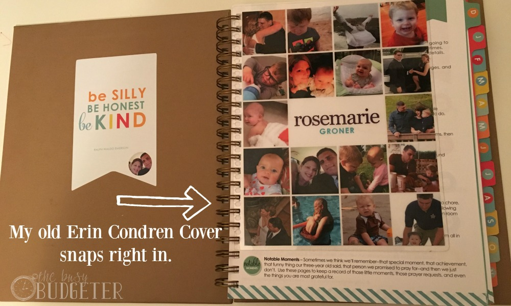 The Living Well Planner Erin Condren Cover