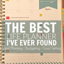 The Living Well Planner Review – The Best Life Planner I've Found!