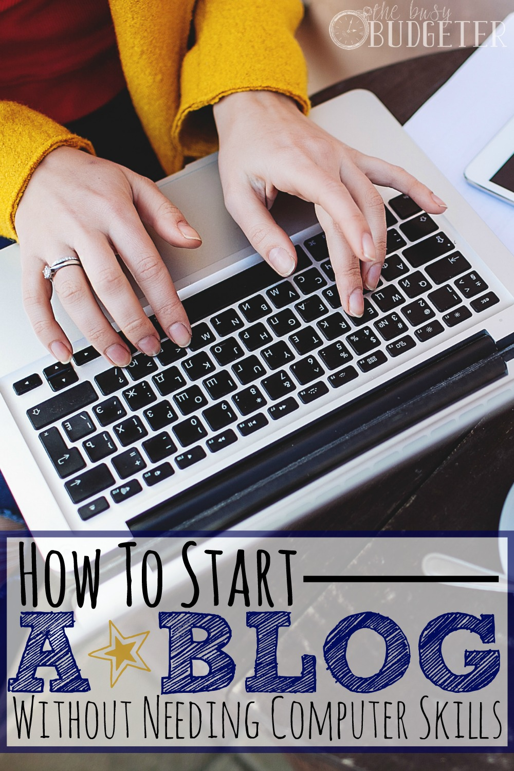The Easiest Way To Start a Blog - No Fancy Computer Skills Needed! I've read countless tutorials on this and they're always so vague. This is the first one that I could completely understand each step. I'm not terrible at computers but I also wouldn't say I'm amazing and this was effortless for me to tackle. (After having tried and failed to start a blog several other times). The best part is that it goes beyond just how to create a website and talks about how to make money from your blog too. Great links to income reports too!