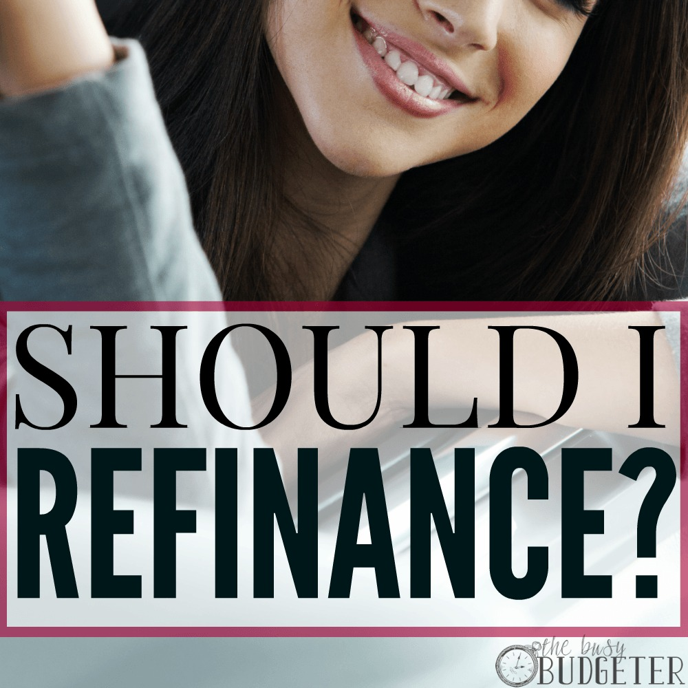 when does refinancing make sense