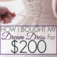 How I Found the Cheapest Wedding Dress