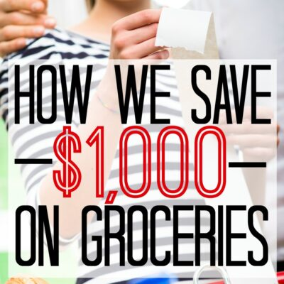 The Simplest Way to Save on Groceries