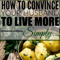 How to Get Your Spouse on Board with Simplifying