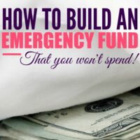 How to Build an Emergency Fund (that you won't spend!)