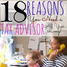 18 Reasons You Need a Tax Advisor All Year Long