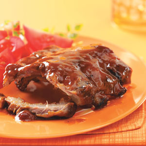 Secrets in the sauce bbq ribs