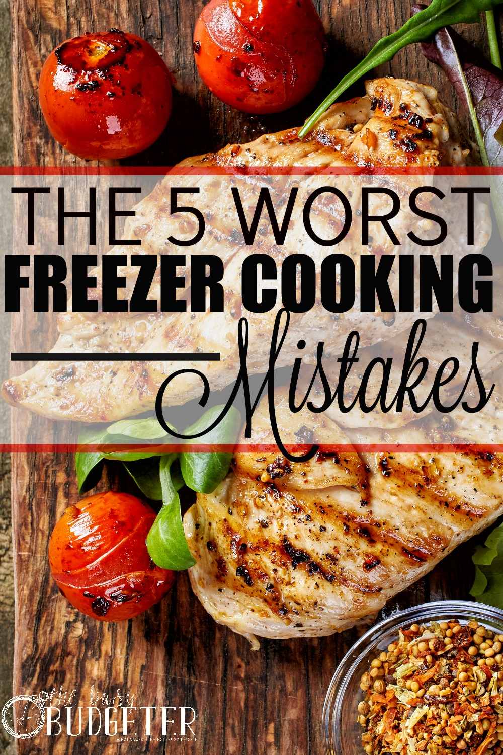 The Five Worst Freezer Cooking Mistakes. Hahahaa Oh my gosh! I've seriously done all of these and I totally agree! I actually gave up freezer cooking after my first session because of it. I started again in January and didn't do ANY of these and it's amazing how easy it is now!