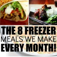 Best Freezer to Slow Cooker Meals (Our Family's Tried and True Favorites)