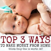The 3 Most Popular Ways to Make Money From Home (and Why You Should Only Do 1!)