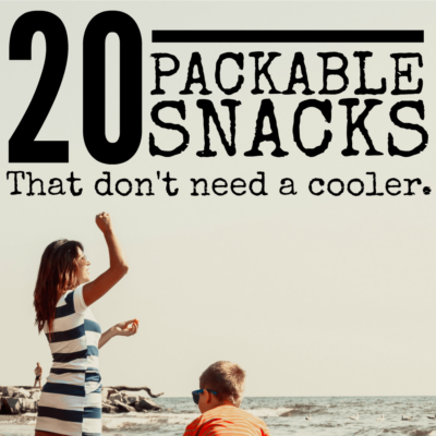 20 Packable Snacks that Don't Need a Cooler
