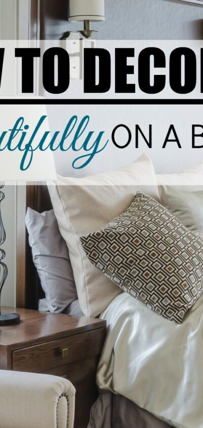 decorate beautifully on a budget