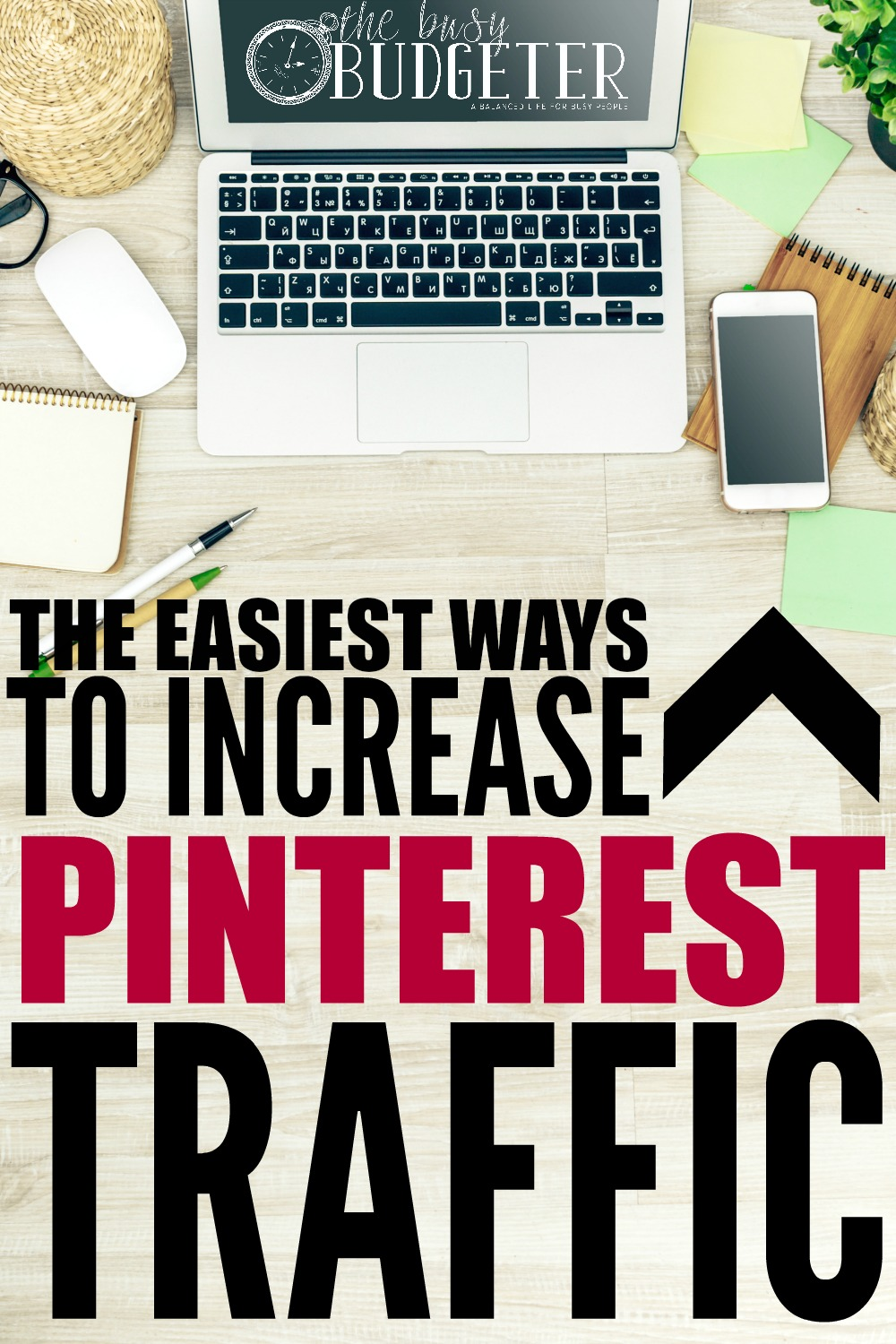 The easiest ways to increase Pinterest Traffic. I implemented all three of these and saw a HUGE increase in Pinterest traffic. I love Pinterest for Blogging! I wish other social media was as easy as Pinterest is.