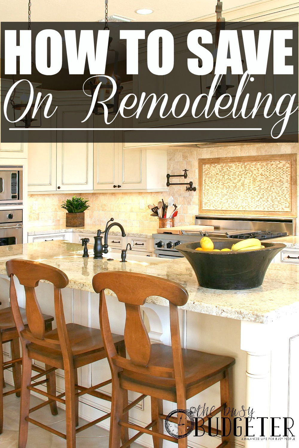 How to Save on Remodeling. We just got estimates on a kitchen remodel and I almost choked. These are great ideas! I called around to find contractors that would let us source our own supplies and we saved 14% (almost $3,000!). This was a great read at perfect timing.