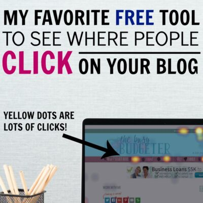 How do you find where people are clicking on your blog?