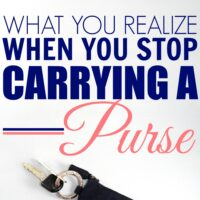4 Things That Happen When You Stop Lugging Around a Purse