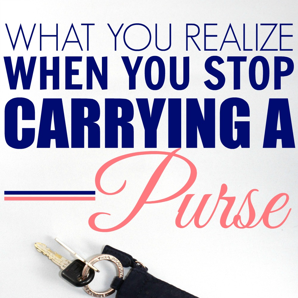 ditch your purse